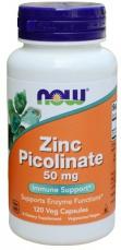 Now Foods Zinc Picolinate 50 mg 120 kapsúl