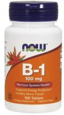 Now Foods Vitamin B1 100 mg 100 tabliet