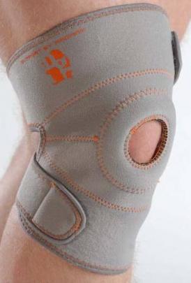 Neoprénová bandáž kolenné s otvorom