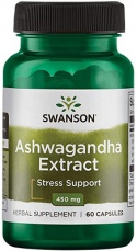 Swanson Ashwagandha Extract 450 mg 60 kapsúl
