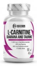 MaxxWin L-Carnitine Guarana Taurine 90 kapsúl