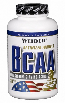 Weider BCAA + vitamin B6 - 130 tabliet EXPIROVANÉ DMT