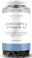 Myprotein Curcumin (Kurkumin) & vitamin D3 60 kapsúl