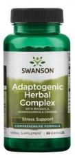 Swanson Adaptogenic Herbal Complex 60 kapsúl