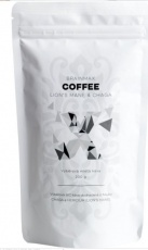 BrainMax Coffee BIO káva s medicinálními houbami Lion's Mane & Chaga 200 g