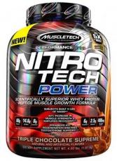 MuscleTech Nitro-Tech Power 1800 g + Vapor 1 Pre-Workout 95 g ZADARMO