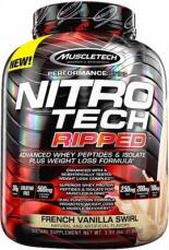 MuscleTech Nitro-Tech Ripped 1800 g + Vapor 1 Pre-Workout 95 g ZADARMO