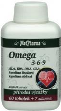 Medpharma Omega 3-6-9 67 kapsúl