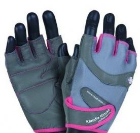 Mad Max rukavice Klaudia No.93 šedo/ružové