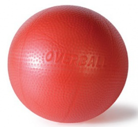 Gymnic Overball SoftGym 23 cm červený