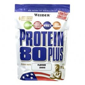 Weider Protein 80 Plus 500 g - cappuccino VÝPREDAJ