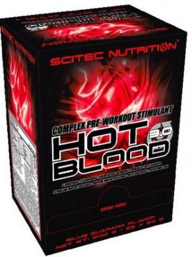 Scitec Hot Blood 3.0 25 x 20g EXPIROVANÉ DMT
