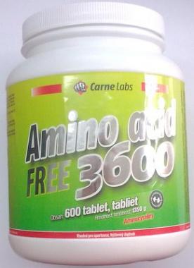 Carne Labs Amino Acid 3600 600 tabliet