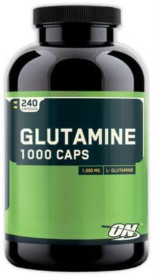 Optimum Nutrition Glutamine 1000 240 kapsúl EXPIROVANÉ DMT