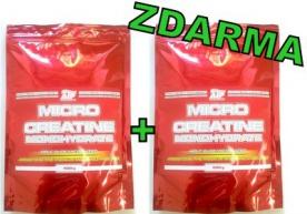 ATP Creatine Monohydrate 500 g + 500 g ZADARMO