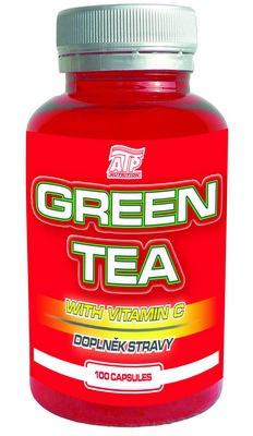 ATP Green Tea - zelený čaj extrakt 100 kapsúl