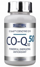 Scitec CO-Q10 50 mg 100 kapsúl