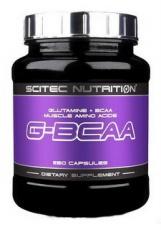 Scitec G-BCAA 250 kapsúl