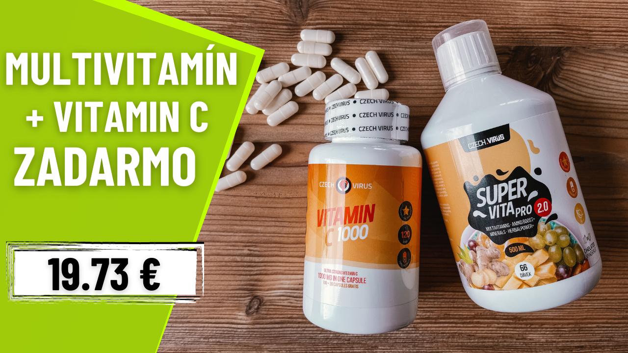 Czech Virus SuperVita PRO V2.0 500 ml + Vitamín C 1000 mg ZADARMO