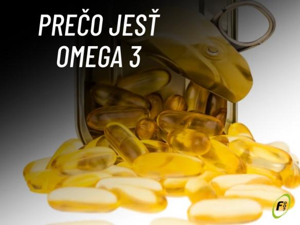 Prečo jesť omega 3 masté kyseliny? Prinos pre zdravie, účinky a správne dávkovanie.