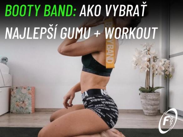 Booty Band Workout Posilňovacia guma na zadok a nohy